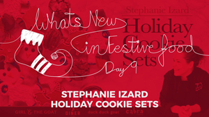 What's New In Food: Stephanie Izard Holiday Cookie Sets
